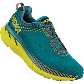 Hoka One One Clifton 5 Running Shoes Herrer, carribean sea/storm blue